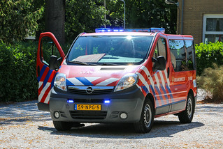 Dutch fire brigade Opel Vivaro