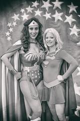 Wonder Woman and Supergirl, Silicon Valley Comic Con, 2016 (Thomas Hawk) Tags: america california comiccon comicconsiliconvalley conventioncenter cosplay svcc svcc2016 sanjose sanjoseconventioncenter santaclaracounty siliconvalleycomiccon supergirl usa unitedstates unitedstatesofamerica wonderwoman fav10 fav25 fav50