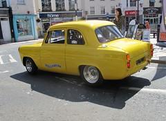 1959 Ford Anglia (occama) Tags: vou760 ford anglia 1959 v8 rod modified muscle cornwall uk old car british loud