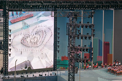 National Day Parade National Education Show 1 - Stage Formation Jul '18 (knowenoughhappy) Tags: national day parade ndp 2018 jul july singapore marina bay float floating platform outdoor rehearsals combined education show stage performance