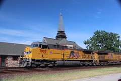 58210 (richiekennedy56) Tags: unionpacific ac44cw up7089 donballcurve douglascountyks kansas lawrence railphotos unitedstates usa