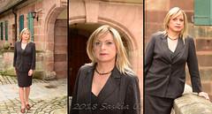 Feiertagsspaziergang / holiday walk (Saskia U.) Tags: tgirl crossdresser draussen outdoor collage