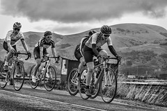 Friends even tho close competition (heidithomson) Tags: nzracing cyclesouthland cycle race cycling biking southland otago roadrace sport nz newzealand outdoor exercise