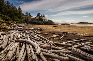 Beach walk British Columbia