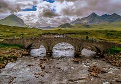 Sligachan Bridge (MC Snapper78) Tags: scotland nikond3300 cuillins marsco mountains sligachan ligachanbridge riversligachan landscape scenery isleofskye thomastelford marilynconnor