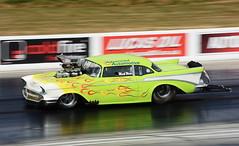 Chevy_1447 (Fast an' Bulbous) Tags: classic oldtimer race track drag strip car vehicle automobile racecar outdoor nikon santa pod dragstalgia