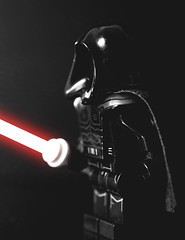 The Dark Lord (BaneStudios) Tags: lego legocustomminifig starwars sith fx jedi lightsaber kitbash macro 60mmmacro fujifilm