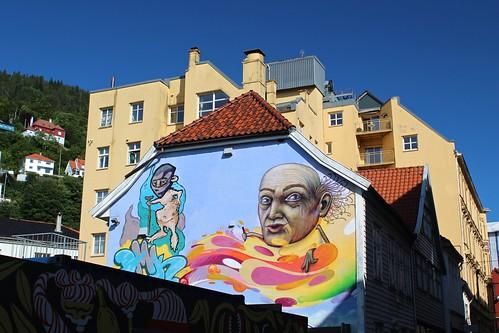 Mural in Bergen