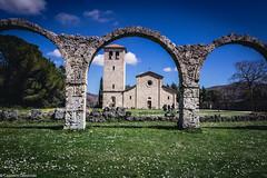 Abazia di Castel San Vincenzo (SDB79) Tags: castelsanvincenzo molise abazia chiesa arte cultura italia turismo antico