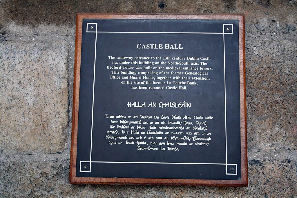 Entrance To Dublin Castle