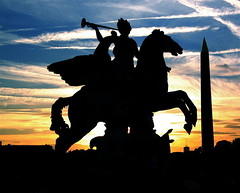 Mount (A.G. Pennypacker) Tags: sunset sky horse paris france silhouette silhouete concorde tuileries denverbroncos ithinkthatsit onemoretime sillohowdoyouspellthat
