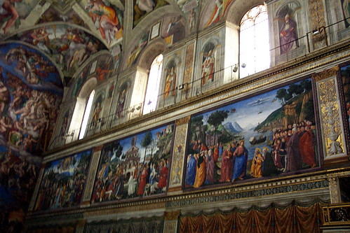 Capilla Sixtina: Frescos y Ventanas / Sistine Chapel: Frescoes and Windows