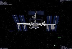 ISS in Celestia