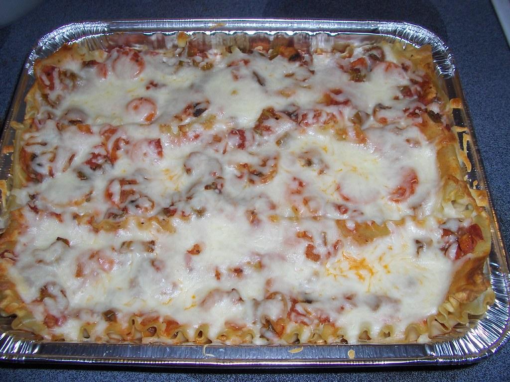 Vegetarian Lasagna (w/recipe)