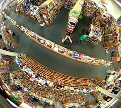 books books books (slight clutter) Tags: reflection me mirror store books bookstore iloveflickr dork goofball topf100 halfpricebooks slightclutter houstonist wheresthephotographysection katyahorner slightclutterphotography