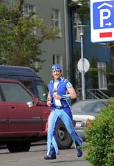 Maggi Skelfing (Siggi Jarl) Tags: celebrity television iceland running reykjavik health fitness reykjavk menningarntt lazytown sportacus latibr magnsscheving rttalfurinn