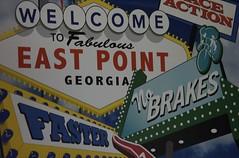 Viva East Point (InsideThePerimeter) Tags: d50 georgia nikon signage eastpoint