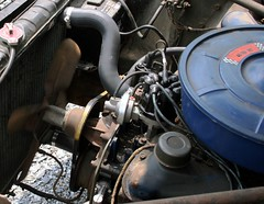 motion car fan engine 1966 66 mustang advance idle rotating v8 blades breather 289 distributorcap vbelt