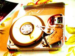 Hardisk (animhalo) Tags: colors computer hard harddisk disk tecnology gigabyte