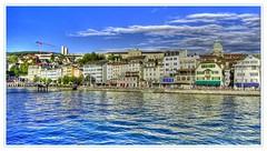 View limmatquai zurich HDR on Flickr
