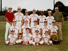 Little League All-Stars - Carthage, Texas - 1970 (Jim Lambert) Tags: sports teams texas baseball tx 1970 1970s carthage littleleague carthagetx