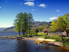Loch Earn (edowds) Tags: cloud mountain tree scotland pier boat perthshire bluesky breathtaking seaplane lochearn stfillans scoreme40 flickrscorer21 5bangs simplysuperb