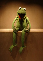 Kermit de Frog (Extra Medium) Tags: portrait smithsonian interestingness 100 kermit kermitthefrog