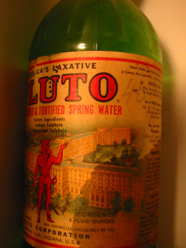 Pluto Laxative