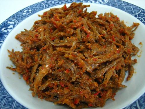 Sambal Ikan Bilis / Spicy Anchovies