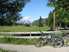 Cycling to Seefeld