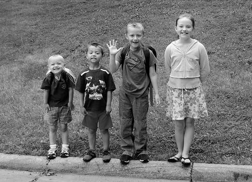 First Day of School 2006