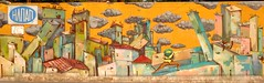 Os Gemeos & Woozy (server pics) Tags: street urban art wall graffiti calle arte kunst athens os via greece grecia atenas writers writer rua strase rue grce  pintura  grafite gemeos athen osgemeos griekenland  athnes woozy gmeos   atene         athensstreetart          artedelacalledeatenas serverpics