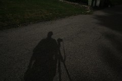 My moonshadow after Ernesto (NYCArthur) Tags: shadow me tripod moonlight ernesto poweroff moonshadow noelectricity stormnight