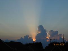 Sunset 194 (Alex Hopkins) Tags: sunset summer england sky clouds evening ray leightonbuzzard alexhopkins