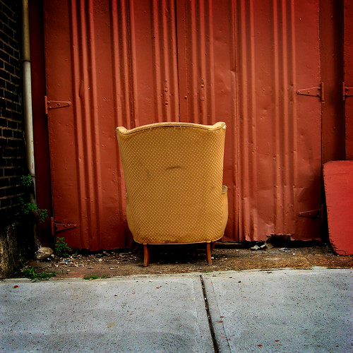 Sad chair by Bill Keaggy.