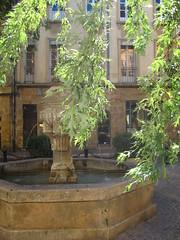 (edenvert) Tags: summer sun france soleil aixenprovence fontaine ete
