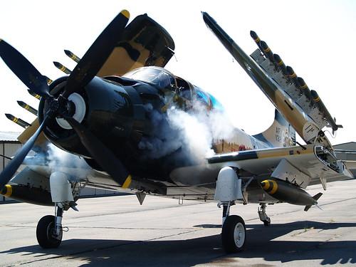 Warbird picture - A-1 Skyraider