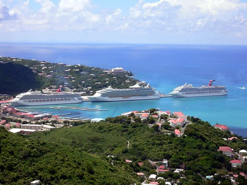 Cruise Ships Docked at St.
