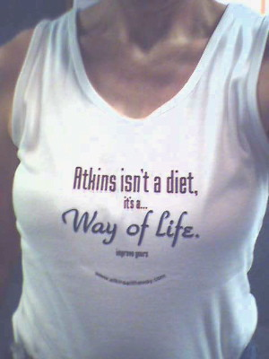 Atkins shirt -- phone me atkins carb atkinsdiet lowcarb health thin thisisme overweight loss weightloss