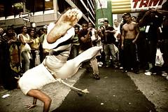 Capoeira @ ISO 1600 (Ali Brohi) Tags: nyc newyorkcity brazil people newyork 20d festival canon capoeira manhattan culture brazilian ethnic cultural seedingchaos braziliandayfestival southeramerican moazzambrohicom httpwwwmoazzambrohicom wwwmoazzambrohicom