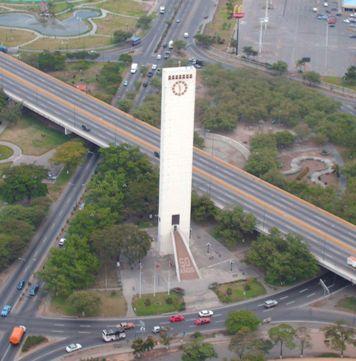 Vista aérea. Obelisco