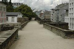 Paseo de las murallas (Carlos el hormigo) Tags: romano galicia lugo murallas