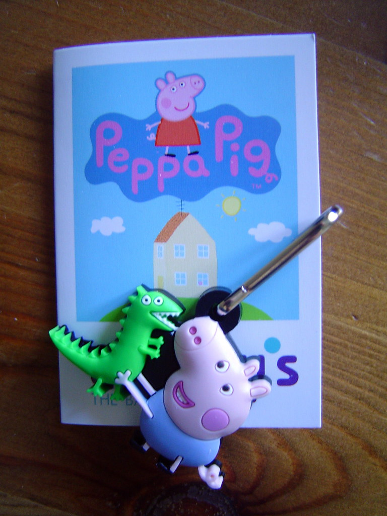 Peppa Pig hanger-on