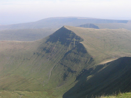 Cribyn in Brecon Beacons, Wales