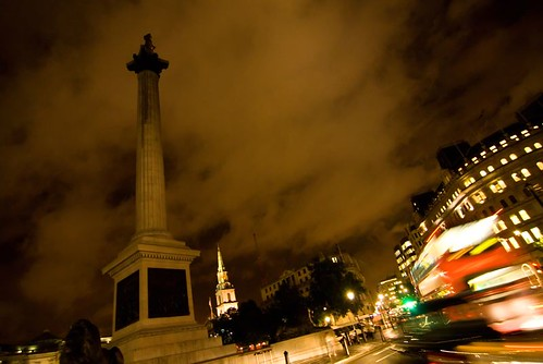 Trafalgar square by cuellar.