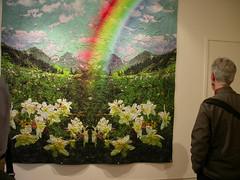 Virgil Marti rainbow quilt