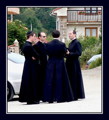 THEY ARE NOT IN THE VATICAN.  MATRIX III?