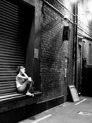 (Mark Waldron) Tags: ireland dublin girl solitude theatre bodylanguage laneway behind gaiety feelinglonely behindgaietytheatre