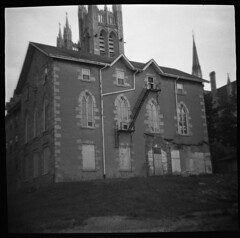 (Denim) Tags: ontario canada 120 film toy guelph toycamera diana convent