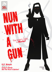 nunwithagun (robolove3000) Tags: illustration book gun nun pulp robolove3000